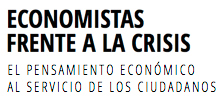 Logo economistas frente a la crisis
